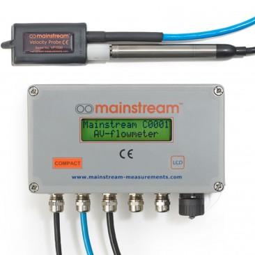 Mainstream Compact fixed AV-Flowmeter