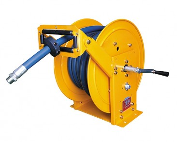 Hand Cranked Hose Reel ~ Manual rewind :: Up to 30m hose