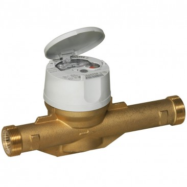 DN40 Itron Flostar single-jet water meter (Cold) Dry Dial :: Nuts, Tails and Washers included