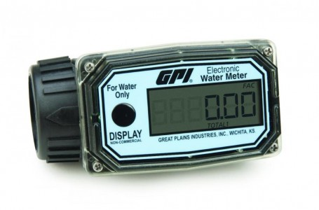 In-line Digital Water meter :: BATTERY ECONOMY NYLON MODEL