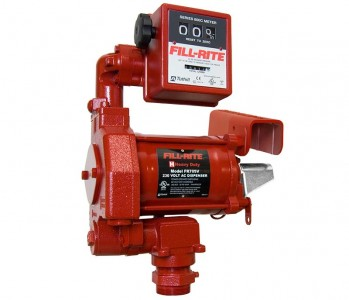 Fill-Rite ATEX Fuel Transfer Pump and Litre Meter :: 68LPM, 230VAC