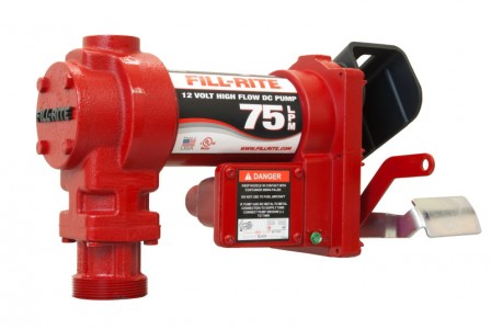 Fill-Rite ATEX Fuel Transfer Pump :: 75LPM, 24VDC