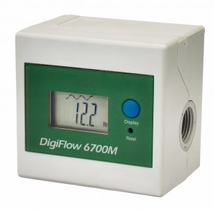 DigiFlow BF6700M, LCD Rate / Totaliser :: 1.7