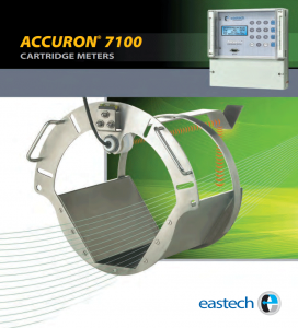 ACCURON® 7100 Cartridge Flow Meter, Permanent: Single Range