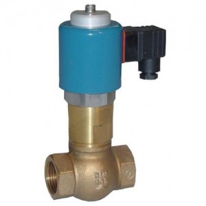 "1¼"" Brass NC, Direct acting solenoid valve"