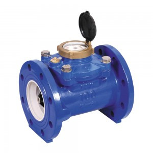 DN200 Arad WSTsb Woltmann Helix Water Meter (Cold) Dry Dial Flanged PN16 :: WRAS Approved, MID certified