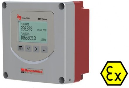 Dynasonics TFX-5000 Transit-Time Ultrasonic Flow Meter