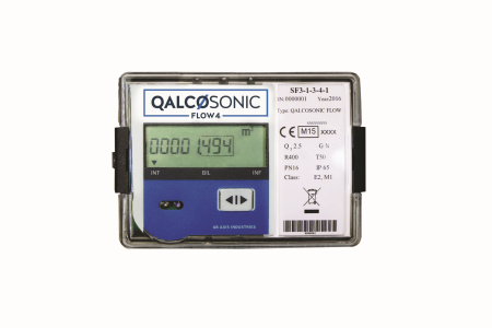 Qalcosonic Flow 4 Ultrasonic Water Meter DN100 PN16 Flanged :  Q3 100 MID Approved