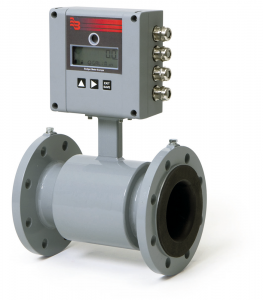 MID6 Battery Powered Electromagnetic Flow Meter :: DN65