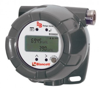 Blancett B3000 Series Flow Monitor :: Base Model, Explosion Proof