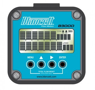 Blancett B3000 Series Flow Monitor :: Solar Model
