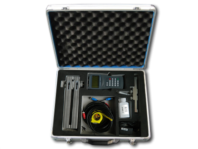 BFU-100-H Hand Held Ultrasonic Flow Meter Assembly :: Clamp-on Sensors 25mm - 100mm