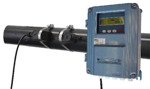 BFU-100-F Fixed Ultrasonic Flow Meter Assembly :: Clamp-on Sensors 300 - 6000