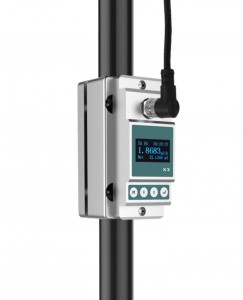 Clamp-on Ultrasonic Flow Meter,  DN15 ID (20-23mm OD)