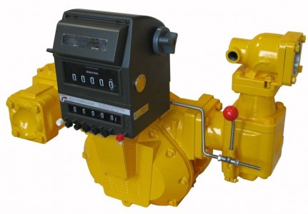BM-40 Bulk Fuel Flow Meter 25 ~ 250 L/min :: Totaliser, Pre-set, valve & mechanical linkage