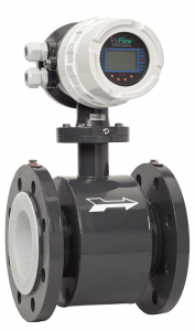 Electromagnetic Flow Meter:: DN100 Flange options, PTFE Liner,  110-230V ACAC Local Display