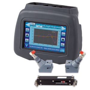 Portable Ultrasonic Flow & Energy Meter DXN :: Dual Capability : Transit Time & Doppler 15-3800mm