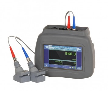 Portable Ultrasonic Flow Meter DXN :: Dual Capability : Transit Time & Doppler 15 - 375mm