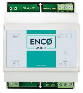 ENCO Master :: Mbus to RS232 Converter