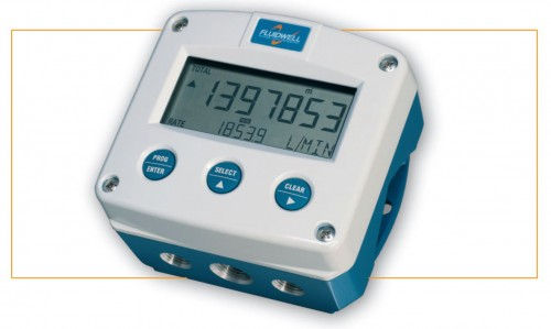 Fluidwell F112-X LCD Digital Flow Rate & Totaliser. ATEX Approved - |HIRE|