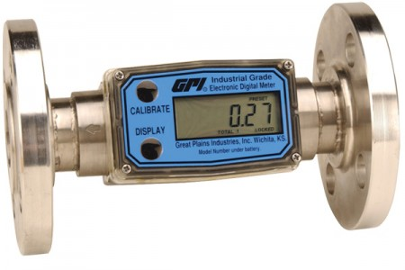 Inline Digital Turbine Meter - ANSI 150# Flanges