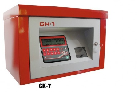 GK-7 Consumption Controller :: Metallic Cabinet 60 / 130 / 1000 Users