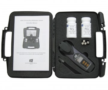ECD HCA1 Colorimetric Chlorine Test Kit
