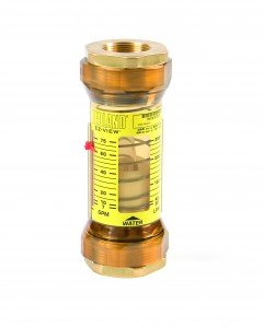 "Hedland EZ-View Flow meter for Oil : 1/2"" BSP"