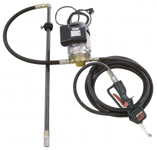 KEB1-200E Electric Kit For 200L Drum :: 0.74kW Pump, Nozzle and Flow Meter