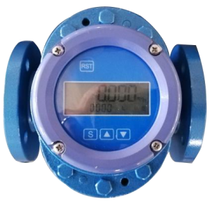 Budget Battery Powered LCD Display Flow Meter :: DN40