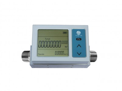 Gas Flow Meter with Detachable Display :: DN12 , 200,300 SLPM