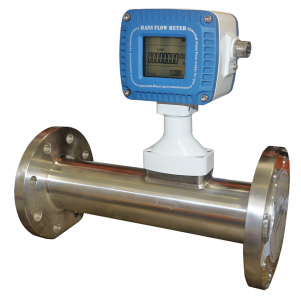 MF50FD Gas Mass Flow meter DN50 ports, 4.0-400 Nm³/hr