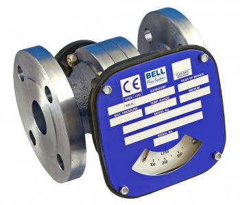 "2 1/2"" Flanged Flow Monitor/Switch - Stainless Steel"