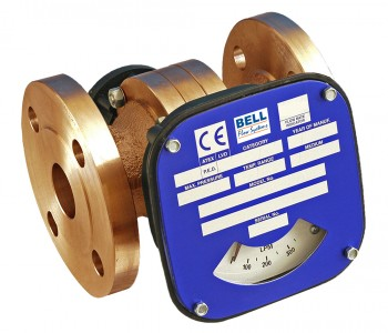 "2 1/2"" Flanged Flow Monitor/Switch - Bronze"