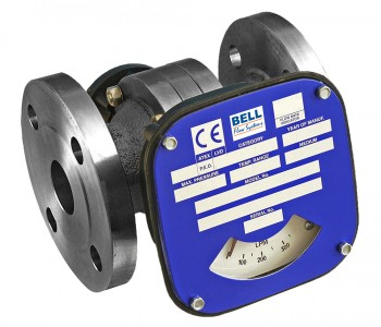 "8"" Flow Monitor/Switch - Cast Iron (Nickel Plated)"