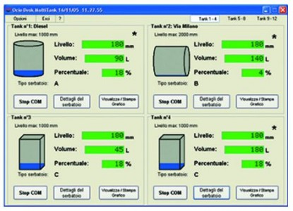 Piusi Ocio Desk Fuel Tank Gauge Software
