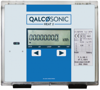 Qalcosonic Heat 2 Ultrasonic Heat Meter DN100 PN16 Flanged : Qp 60, Remote Display