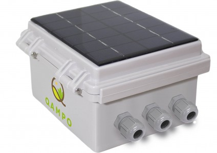Qbic T 10 Channel Data Logger, Web Portal Access and Built-in Solar Charger