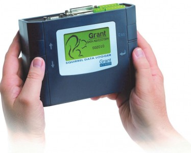 Grant Squirrel SQ2010 Data Logger complete users kit