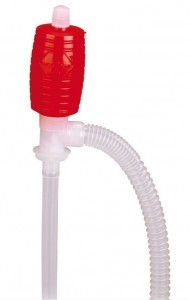 PLASTIC MANUAL HAND PUMP - FUEL, KEROSENE, WATER