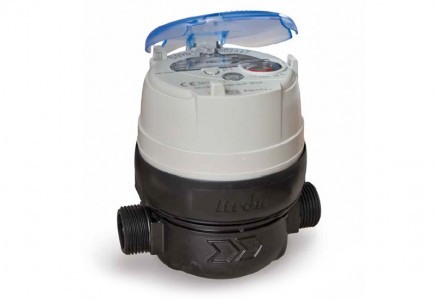 DN15 Itron Aquadis + Volumetric Water Meter (Cold) Dry Dial Composite :: Nuts, Tails, Washers included