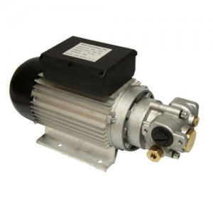 "Electric Gear Pump, Oil Transfer 9-15L/min , 1"" BSP Connections"