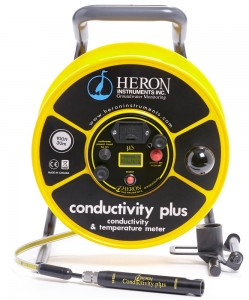 Conductivity Plus - Conductivity, Temperature and Water Level Meter