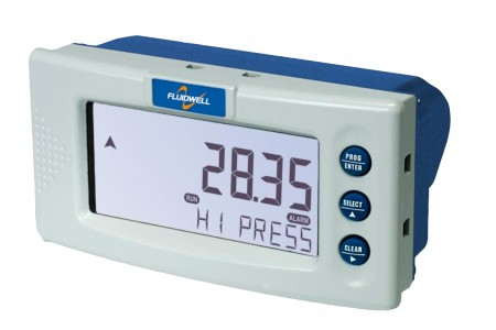 D053 DIN Panel mount - Pressure Monitor with one high / low alarm output