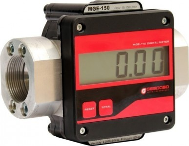 Gespasa MGE-250 Digital Oval Gear Flow meter