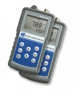 ECD H10 pH / ORP and temperature handheld Meter