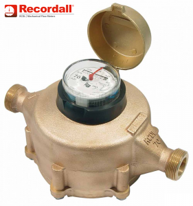 RCDL Nutating Disc Flow Meter M35 :: DN20, 2 - 132 LPM, 16 BAR