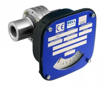 "1/4"" Flow Monitor/Switch - Stainless Steel"