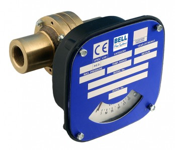 "1/4"" Flow Monitor/Switch - Bronze"