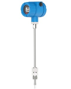 Insertion Thermal Mass Flow meter Threaded for DN25 - DN150